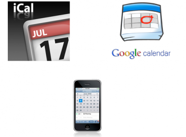 apple ical sync, iphone ical sync, iphone google calendar synchronization