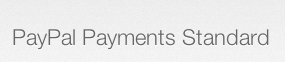 Paypal Payments Standard